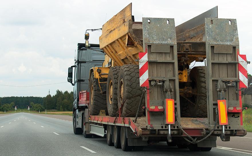 transport wywrotki